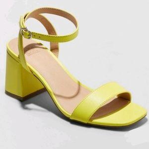 Wild Fable block heel ankle strap sandal